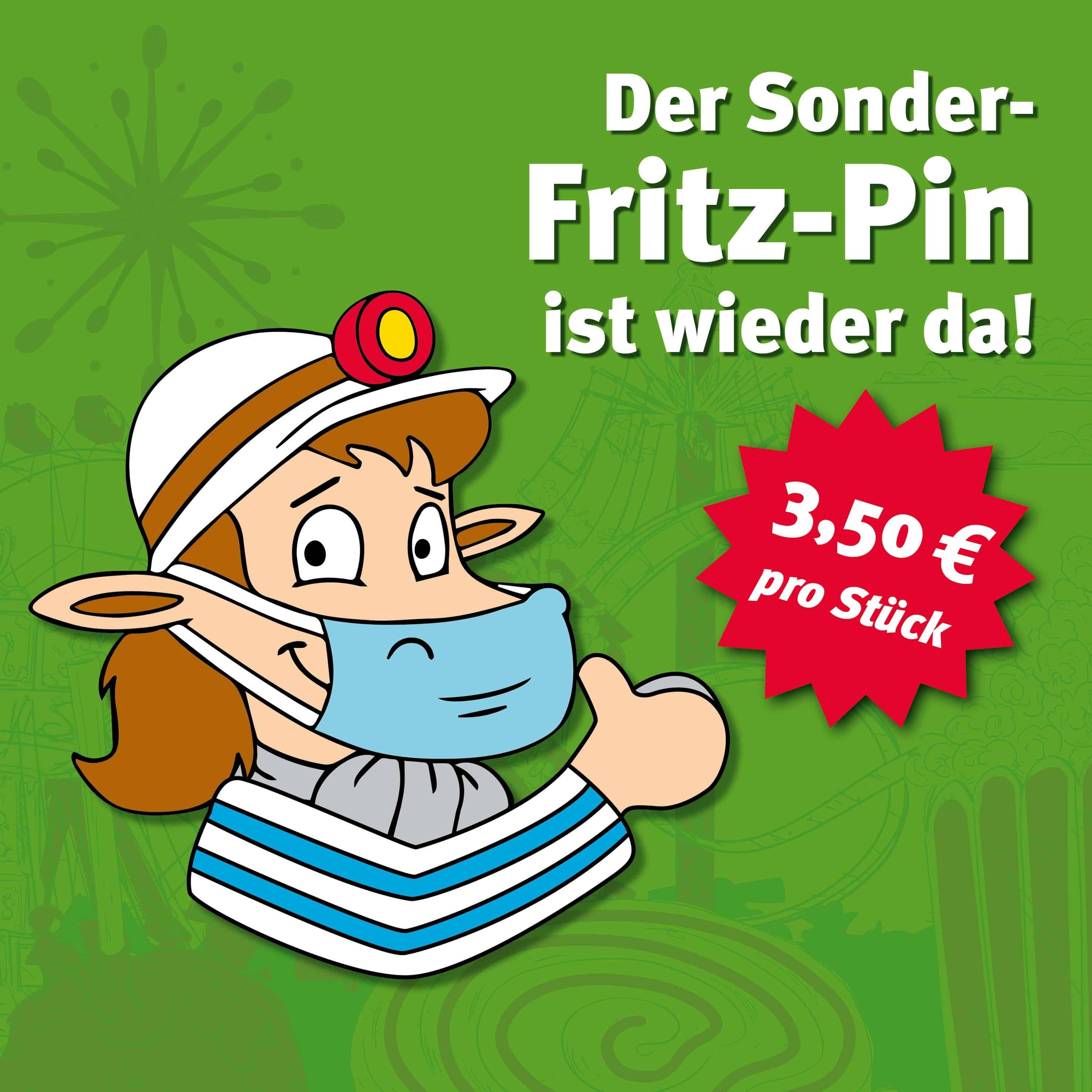 Der Sonder-Fritz-Pin ist wieder da