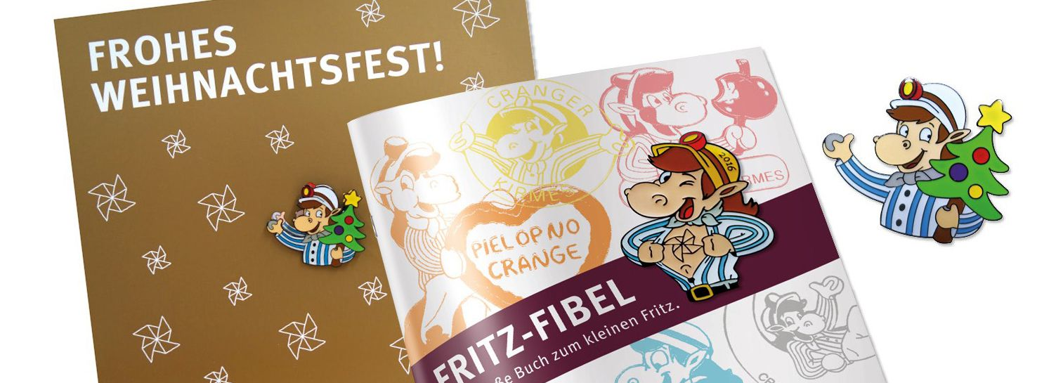 Weihnachts-Fritz-Pin